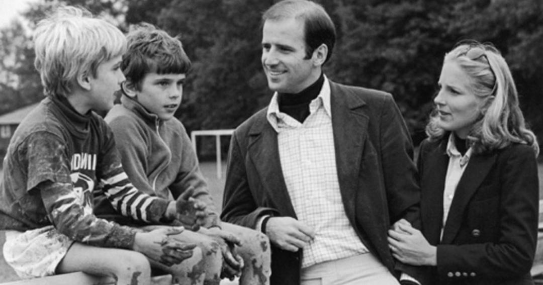 На час шлюбу синам Джо Байдена було 7 і 8 років