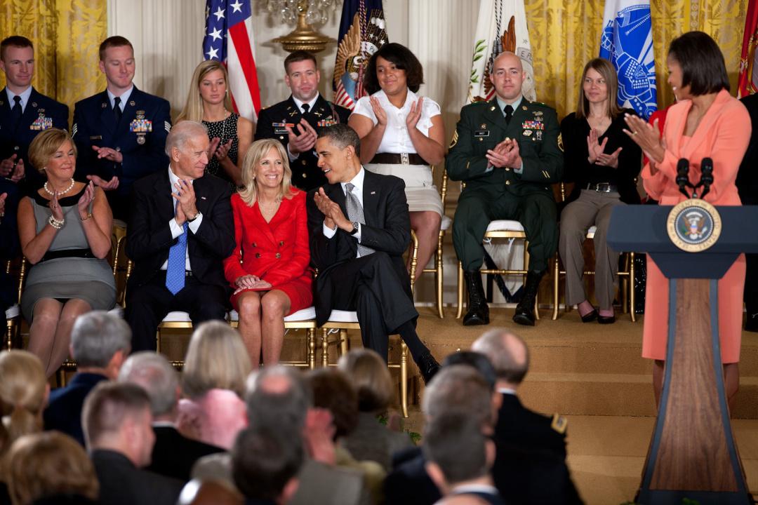 Джилл Байден восемь лет была второй леди США, когда ее муж был вице-президентом