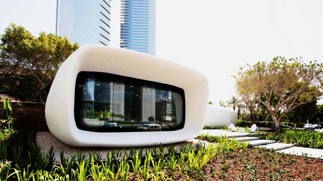 перший у світі тривимірний офіс, надрукований на 3-D принтері, Дубаї, ОАЕ