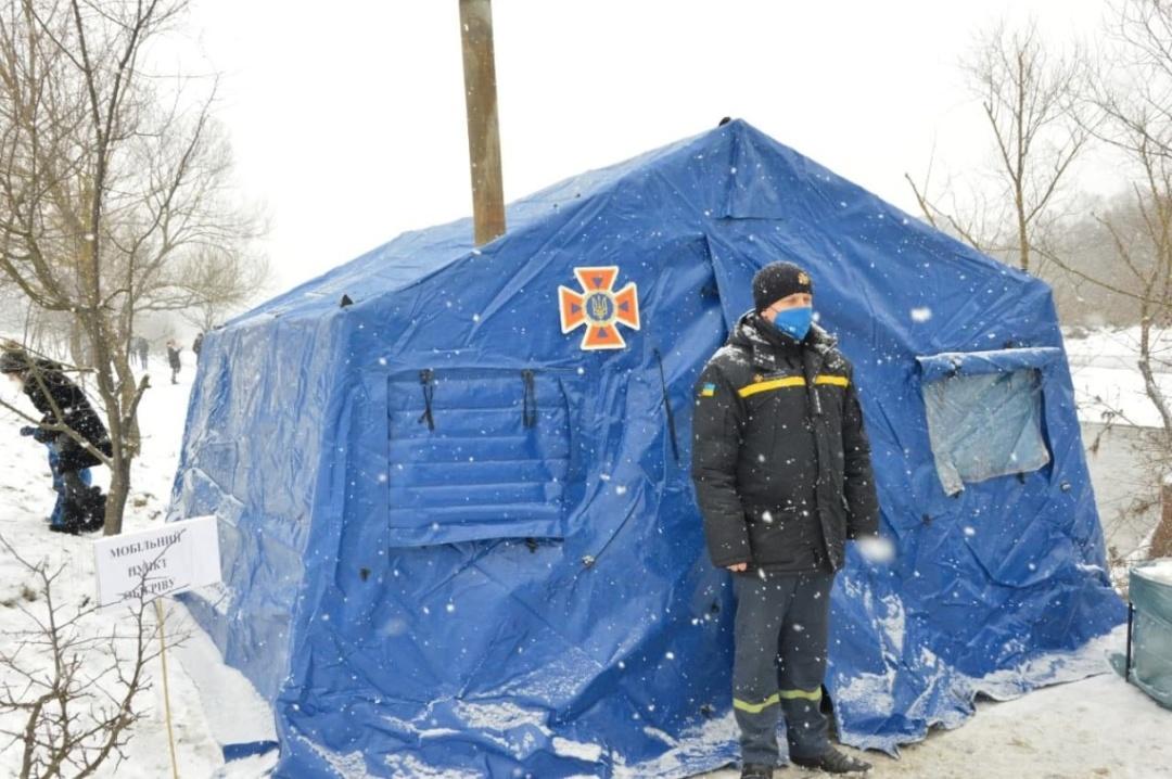 В Україні розгорнуті тисячі пунктів обігріву