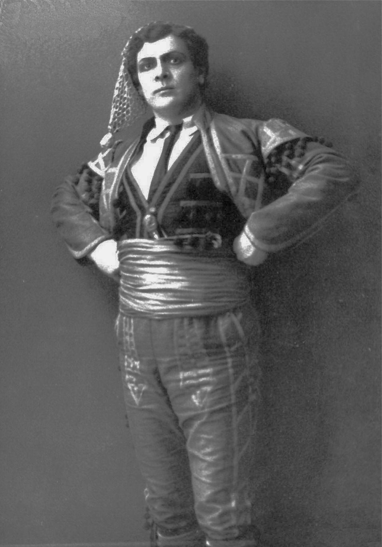 Скуба у ролі Дона Хозе, 1913 р