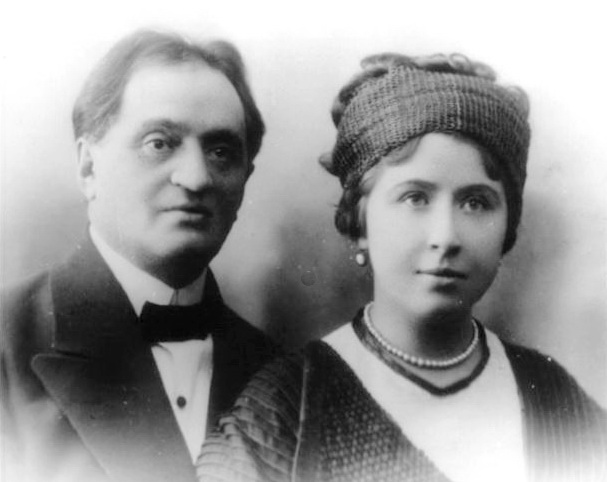 Михайло Медведэв та Марина Скибицька, Кишинев, 1912 р.