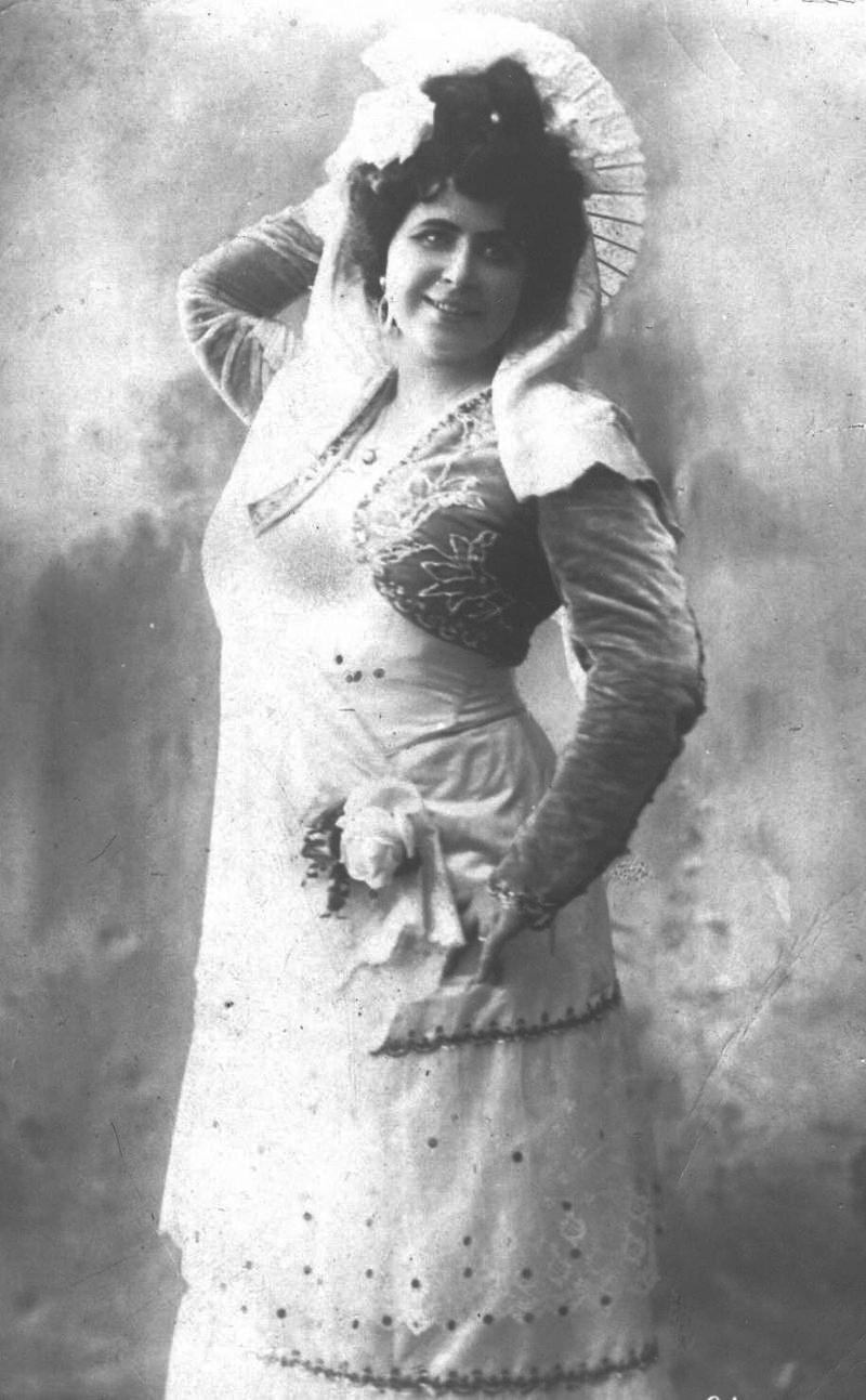 Марина Скибицька у ролі Кармен, 1913 р.