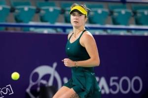 Svitolina avanza a los cuartos de final de la WTA 500 en Abu Dabi