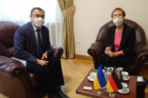 Les Ministères des affaires étrangères de l'Ukraine et de l'Allemagne ont convenu de consultations politiques