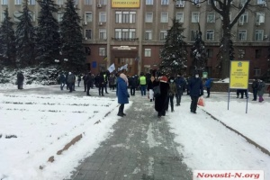 Тарифные протесты прошли в Николаеве