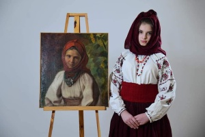 В художественном музее Чернигова «оживили» портреты модниц прошлых веков
