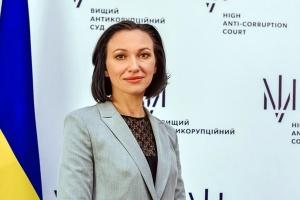 Голова ВАКС запевняє, що не спілкувалася з суддею Вовком під час неформального заходу