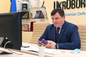 Ukroboronprom CEO, NATO Representation head discuss market expansion