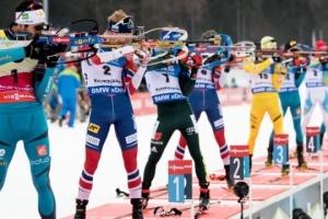 Украина – 2-я в мужской эстафете на Кубке IBU