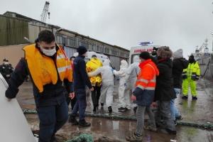 ВМС Турции направило фрегат для спасения моряков с корабля Arvin