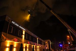 В Одесі сталася пожежа у приватному готелі: є загиблий