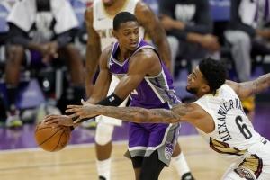 НБА: Рекордные 43 очка Фокса не помогли «Сакраменто» в матче против «Нового Орлеана»
