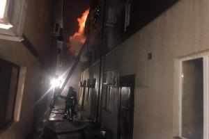 У пожежі в одеському готелі загинули двоє людей