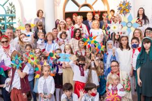 Різдвяний вертеп показали в Дубаї українці ОАЕ