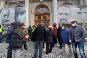 У Львові біля ОДА вимагали знизити тарифи