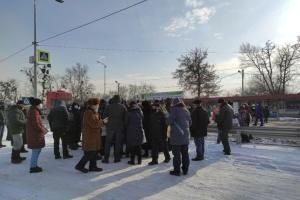 Под Полтавой перекрывали трассу, протестуя против тарифов на коммунальные услуги