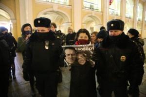 У Петербурзі вийшли на пікети за Навального, є затримані