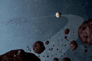 NASA отправит первую миссию к троянским астероидам