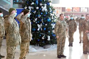 В международном аэропорту «Харьков» почтили память киборгов