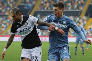 Серия А: «Аталанта» с Малиновским играет вничью против «Удинезе»