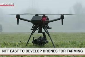 В Японии для сельского хозяйства разработают дроны с искусственным интеллектом