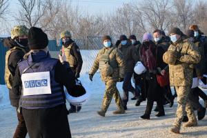 Глава ОБСЕ посетила пункт пропуска «Золотое» на Донбассе