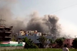 В Индии горит здание крупнейшего мирового производителя вакцин