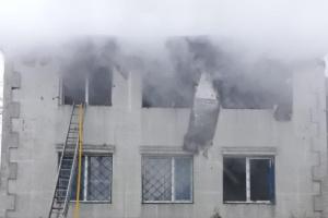 Перед началом пожара в доме престарелых находились 33 человека - Денисова