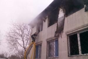 15 muertos en un incendio en un asilo de ancianos de Járkiv