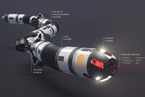 У Норвегії розробили підводного «робота-змію»