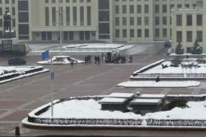 У Мінську біля Будинку уряду людина скоїла самопідпал