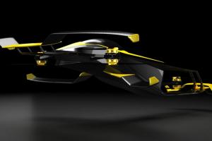 Во Франции разрабатывают летающий автомобиль на водороде для гонок