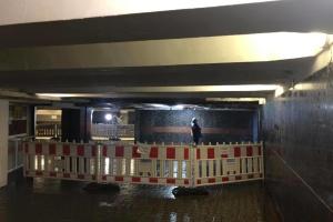 В подземном переходе на Майдане завершили демонтаж потолка, который обрушился утром