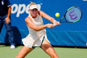 Лопатецька покинула парний розряд турніру в Анталії у чвертьфіналі