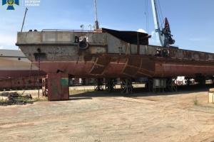 В СБУ кажуть, що на ремонті судна «Держгідрографія» розікрали ₴8 мільйонів
