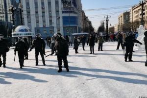 На протестах у Росії - вже понад 3 700 затриманих