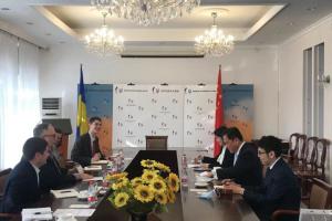 Украина и Китай планируют активизировать региональное сотрудничество между столицами