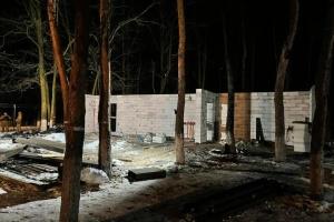 В киевском парке сносят построенное без разрешения кафе