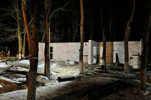 У київському парку зносять збудоване без дозволу кафе