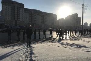 Під час протестів у Білорусі затримали вже близько ста осіб