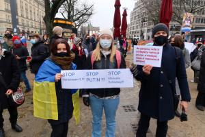 Акция в поддержку Навального прошла в Берлине