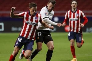 «Атлетіко» переміг «Валенсію» і впевнено лідирує в Ла Лізі