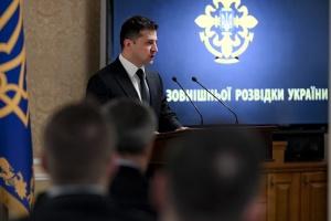 Президент - Службі зовнішньої розвідки: Сьогодні треба працювати понад свої можливості