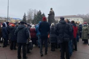 У Житомирі знову зібрався «тарифний» протест