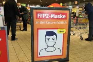 В Австрії почало діяти обов'язкове носіння FFP-масок