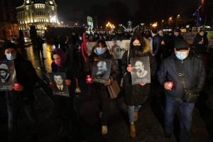 У Львові пройшла «Тиха хода» пам'яті Героїв Небесної Сотні