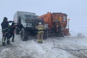 На трассе Киев-Чоп застряли несколько сотен грузовиков