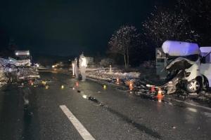 На трассе Киев - Чоп произошло тройное ДТП, есть погибшие