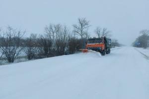 На границе Львовской и Волынской областей ограничили движение из-за непогоды